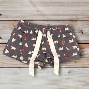 Polar Bear Pajama Shorts
